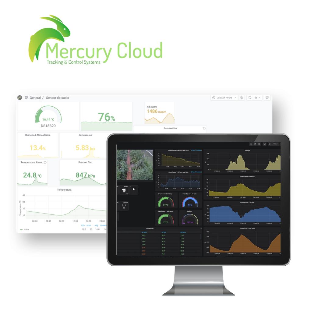 Mercury Cloud Agro: Aplicaciones de IoT para Agricultura